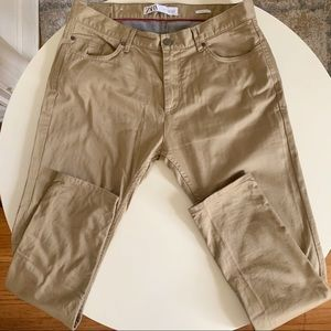 ZARA Skinny Fit Stretch 5 Pocket Pant 34x30